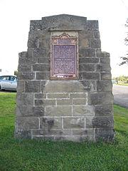 Battle of Petitcodiac Monument, Hillsborough, New Brunswick Albert County Museum