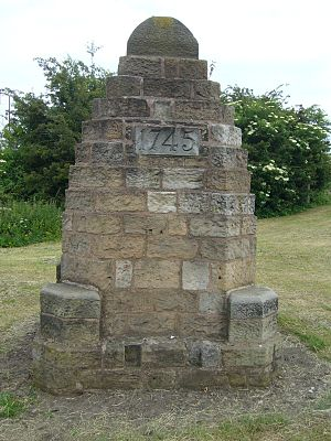 Prestonpans - Battle cairn