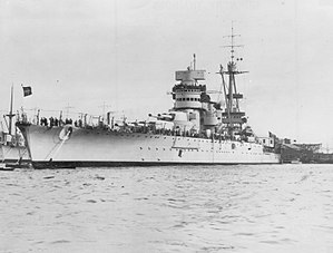 Operation White - Italian battleship Giulio Cesare, sent to intercept the British delivery force