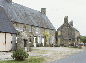 Architecture of Normandy - Vernacular stone houses in Western Normandy