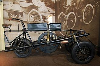 The Great Horseless Carriage Company - Pennington Autocar 1896 by The Great Horseless Carriage Company