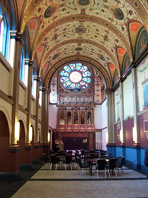Beaumont College - Beaumont chapel in 2008, restored as a function space.