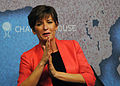 Becky Anderson at Chatham House 2013.jpg