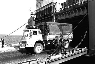 Armed Forces of Malta - Image: Bedford MK 4x 4 truck
