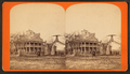 Bee Hive (Beehive) House, and Eagle Gate, Salt Lake City, by Savage, C. R. (Charles Roscoe), 1832-1909.png