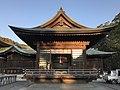 Bell Hall in Miyajidake Shrine.jpg
