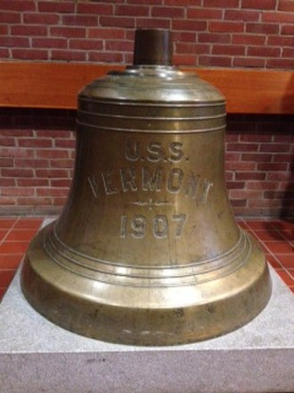 USS Vermont (BB-20) - Bell of the USS Vermont