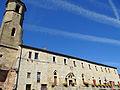 Belvès - Mairie et clocher.JPG