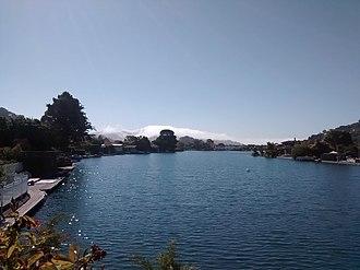 Belvedere Lagoon - Image: Belvedere Lagoon in July 2016