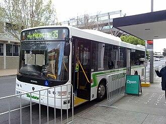 CDC Geelong - Volgren bodied Scania K230UB in October 2010