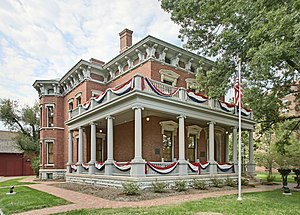 Home of Benjamin Harrison, 23rd president of t...