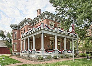 Benjamin Harrison Presidential Site historic house museum in Indianapolis, Indiana