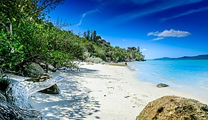 Bennison Island - Image: Bennison Island South Beach