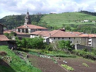 Bergara - View of historic quarter of Bergara