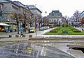 Bergen - Øvre Ole Bulls plass mot Den Nationale Scene.jpg