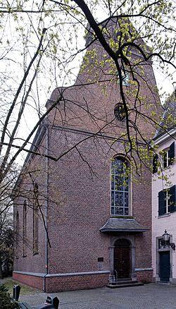 Berger Kirche in Duesseldorf-Altstadt, von Westen.jpg
