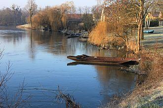 La Wantzenau - The Ill River in La Wantzenau