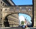 Berlin, Mitte, Franzoesische Strasse, Deutsche Bank-Komplex, Verbindungsbruecke.jpg