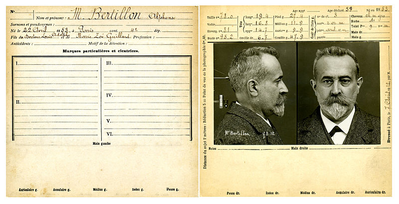 File:Bertillon, Alphonse, fiche anthropométrique recto-verso.jpg