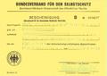 Bescheinigung Selbstschutzlehrgang 1981 - Bundesverband für den Selbstschutz.png
