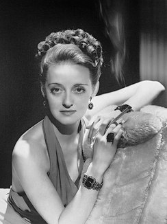 Bette Davis American film, television and stage actress
