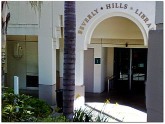 Beverly Hills Public Library - The library is located next to the Beverly Hills Police Department headquarters, near Beverly Hills City Hall.