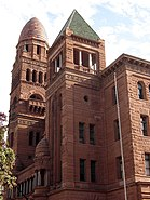 Bexar County Court House perspective