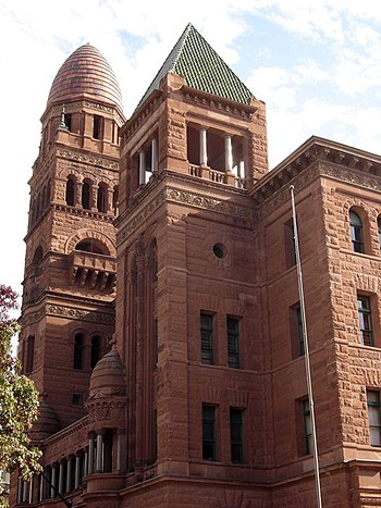 The Bexar County, Texas Courthouse located at ...