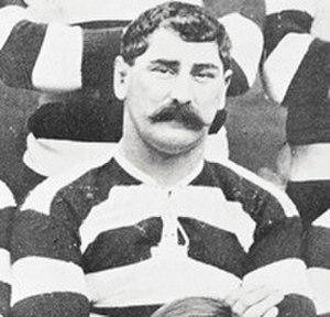 Bill Cunningham (rugby union) - Bill Cunningham in 1904