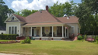 National Register of Historic Places listings in Angelina County, Texas - Image: Binion Casper House, Lufkin, TX