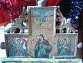 Biserica Sfantul Nicolae din Dobrot (detaliu praznicar).JPG