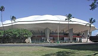Neal S. Blaisdell Center - Image: Blaisdell Arena Honolulu 10 Feb 2010