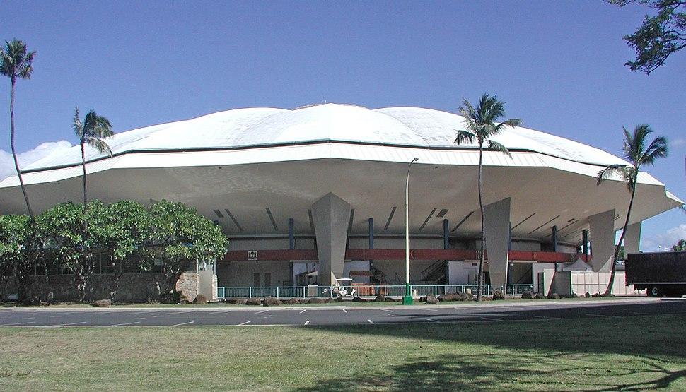 Blaisdell Arena - Honolulu 10-Feb-2010