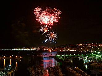 Blanes - Blanes' fireworks.