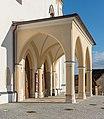 Bleiburg Pfarrkirche hll Peter und Paul Vorhalle NW-Ansicht 21092015 7728.jpg