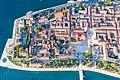 Blick aus dem Südwesten auf das römische Forum und den Gruß an die Sonne, Zadar, Kroatien (48607634926).jpg