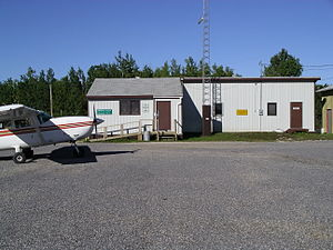 Bloodvein River Airport - Charter flights are the main user of the airport