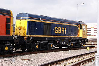 British Rail Class 20 - Class 20/9 No.20 901 of HNRC on long term hire to GB Railfreight