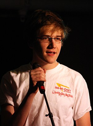 Bo Burnham - Burnham performing at Case Western Reserve University in March 2009