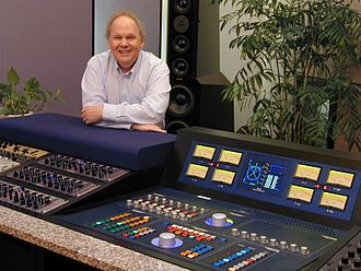 Bob Ludwig - Ludwig pictured in his mastering studio in 2008.