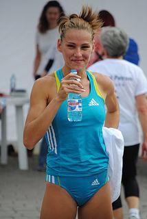 Ancuța Bobocel Romanian middle-distance runner
