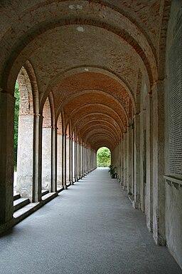 Boca Santuario colonnato