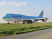 Боинг 747-8I Korean Air облагается налогом.