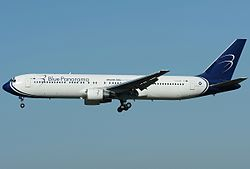 Boeing 767-300ER der Blue Panorama Airlines