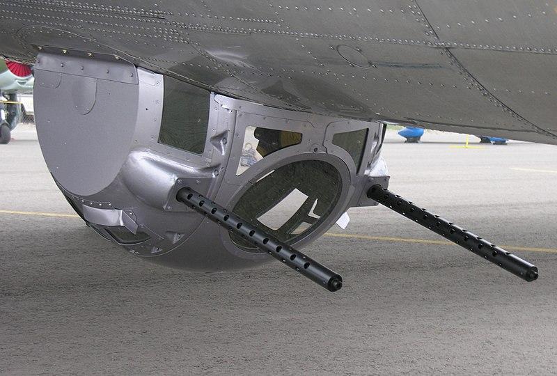File:Boeing B-17G ball turret, Chino, California.jpg
