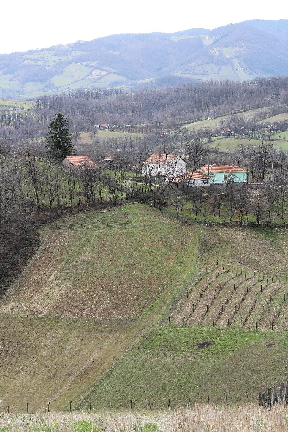 Bogatić - opština Valjevo - zapadna Srbija - panorama 5