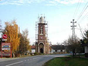 Bogojevo - The new Orthodox church.