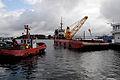 Bogserbatar i Stavangers hamn, Johannes Jansson.jpg