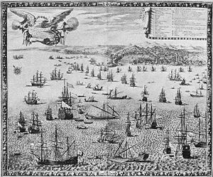 War of the Reunions - Bombardment of Genoa