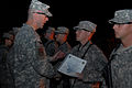 Bonfire Ceremony at Forward Operating Base Kalsu, Iraq DVIDS158101.jpg